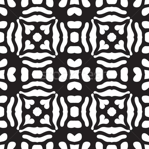 Soyut geometrik simetri modern moda Stok fotoğraf © Vanzyst