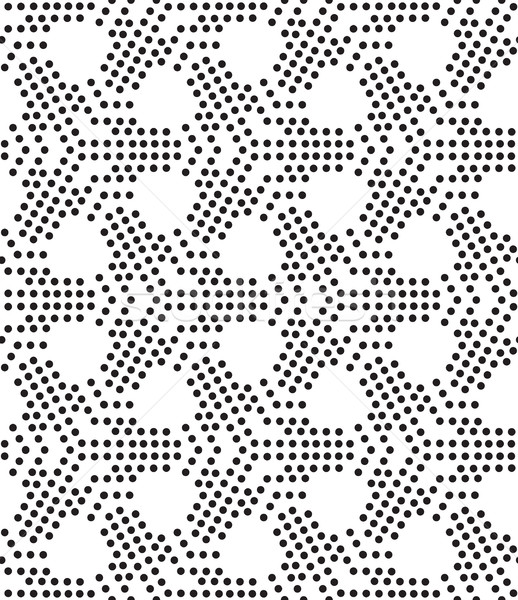 Perforacja wektora uniwersalny inny geometryczny Zdjęcia stock © Vanzyst