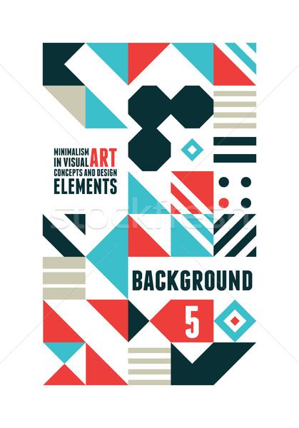 Foto stock: Resumen · mínimo · anunciante · diseno · geométrico · formas