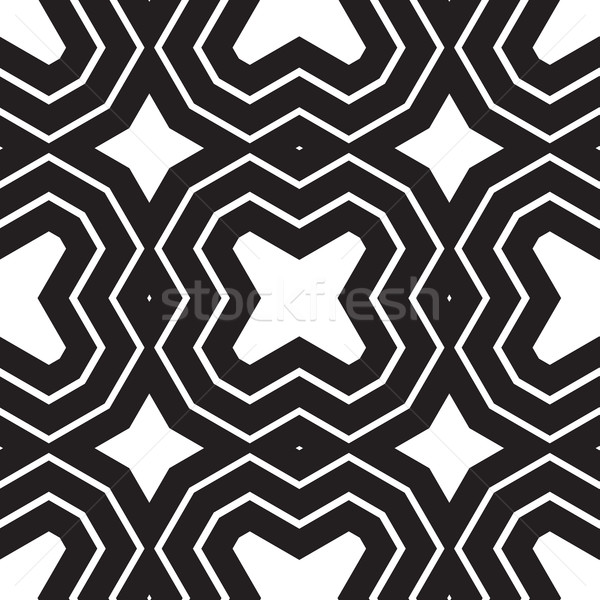 Universal different geometric seamless patterns Stock photo © Vanzyst