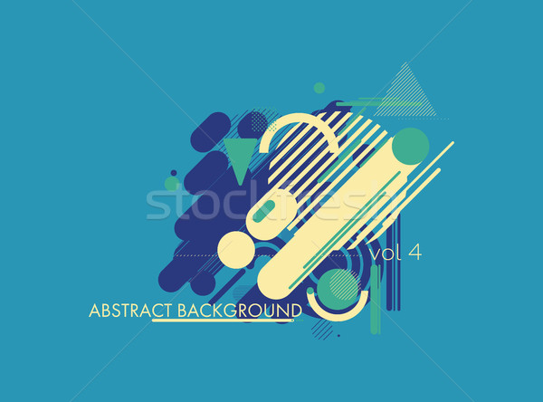 Colorful design elements Stock photo © Vanzyst