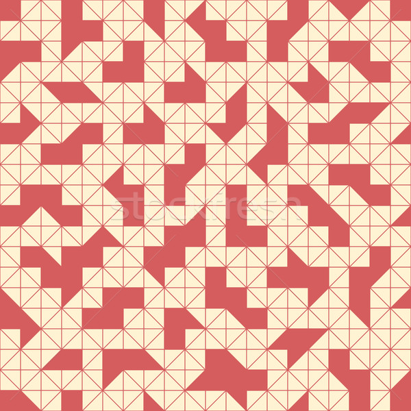 Geometric seamless pattern Stock photo © Vanzyst