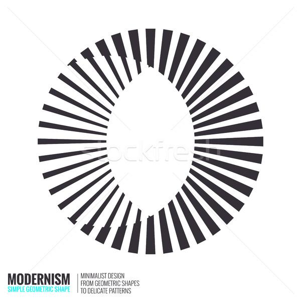 抽象的な 幾何学的な デザイン ロゴ ストックフォト © Vanzyst