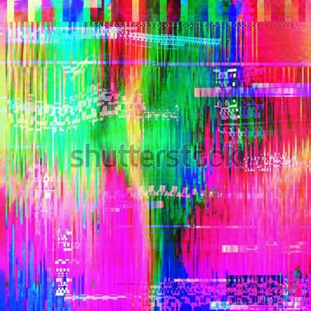 аннотация тенденция изображение эффект стиль Сток-фото © Vanzyst