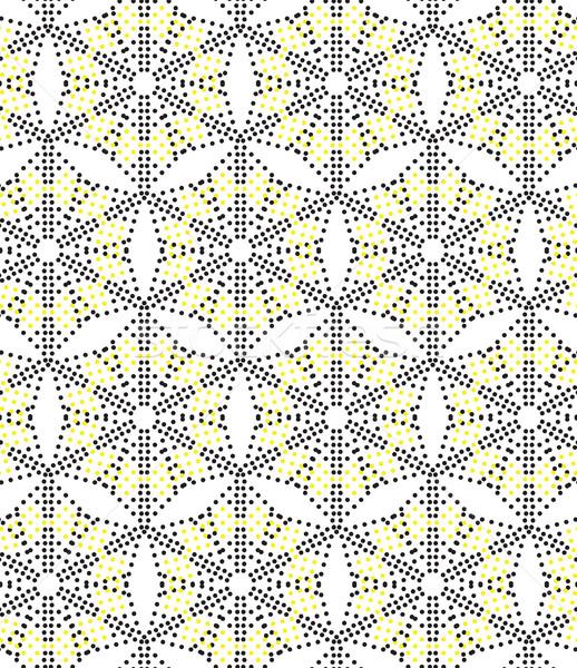 перфорация вектора универсальный различный геометрический Сток-фото © Vanzyst
