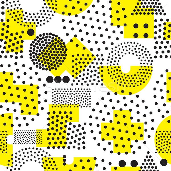 Meetkundig vector universeel herhalen abstract Stockfoto © Vanzyst