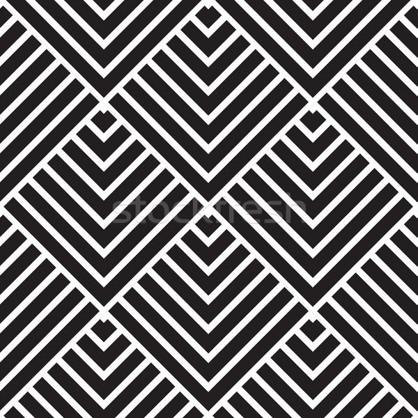 Vector moderne meetkundig textuur abstract Stockfoto © Vanzyst
