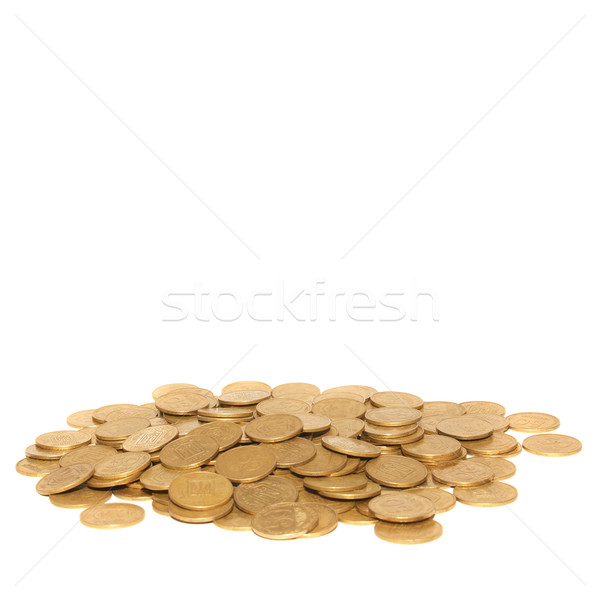 Stack of golden coins Stock photo © vapi