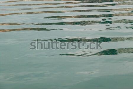 Superfície da água lata usado água textura abstrato Foto stock © vapi