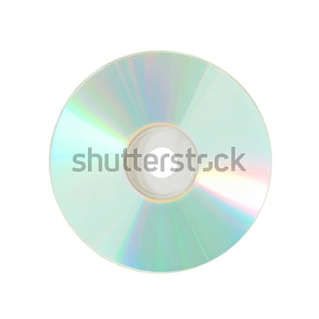 CD izolált fehér zene fény háttér Stock fotó © vapi