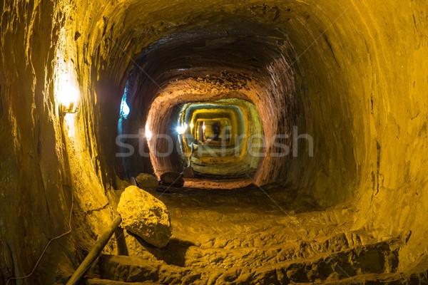 таинственный темница туннель стен здании стены Сток-фото © vapi