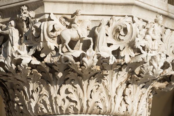 Column Sculptures Stock photo © vapi