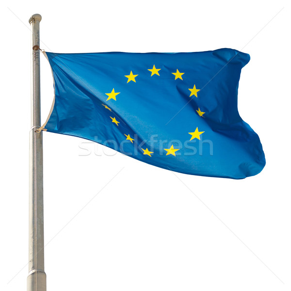 Waving European Union EU flag  Stock photo © vapi