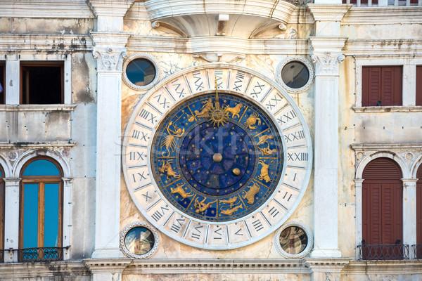Zodiac astronomical Clock Tower Stock photo © vapi