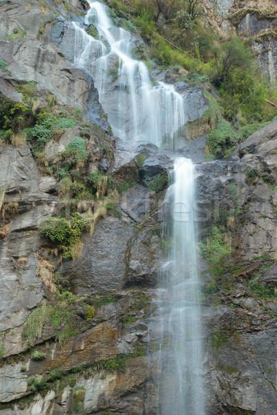 Tibetan waterfall Stock photo © vapi