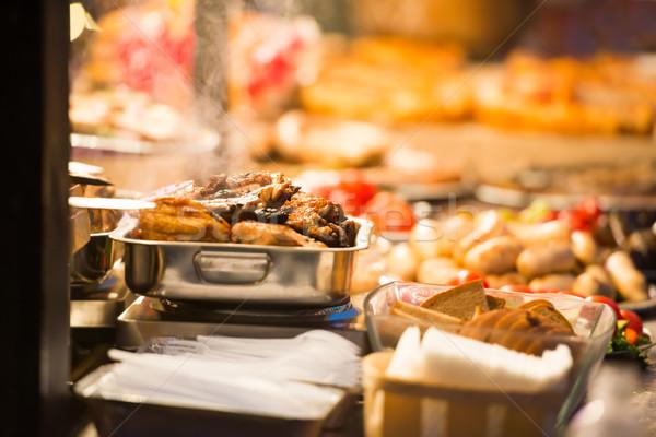 Food street festive Stock photo © vapi