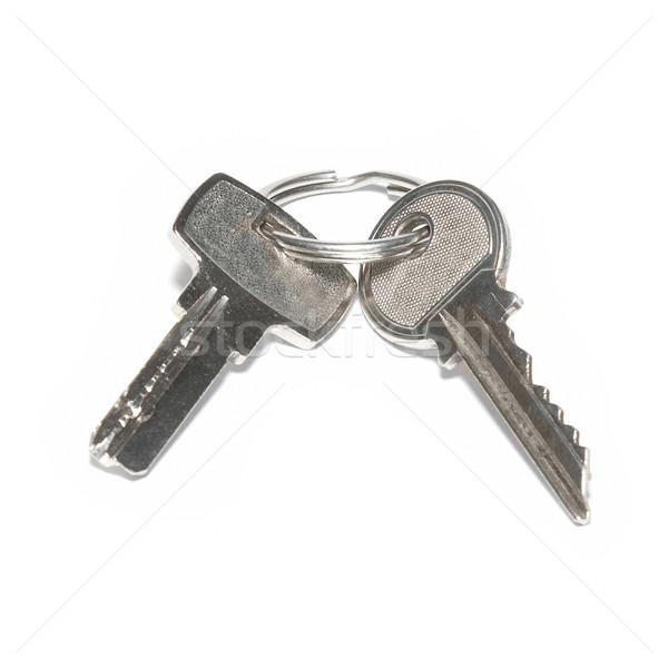 Two silver keys Stock photo © vapi
