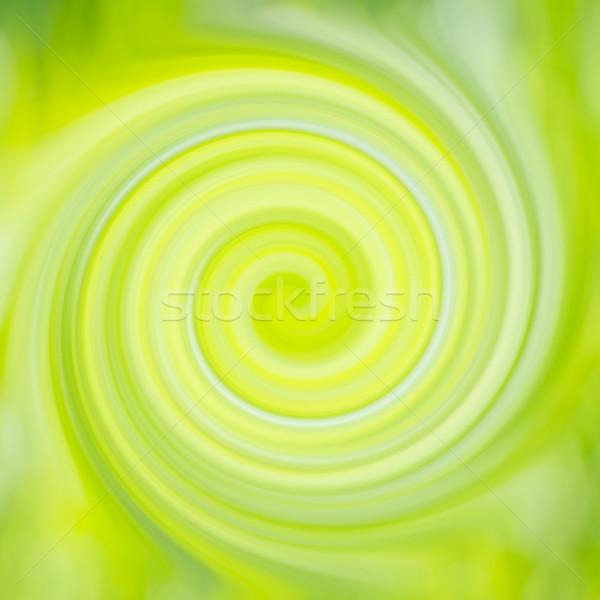 Verde giallo abstract turbinio può usato Foto d'archivio © vapi