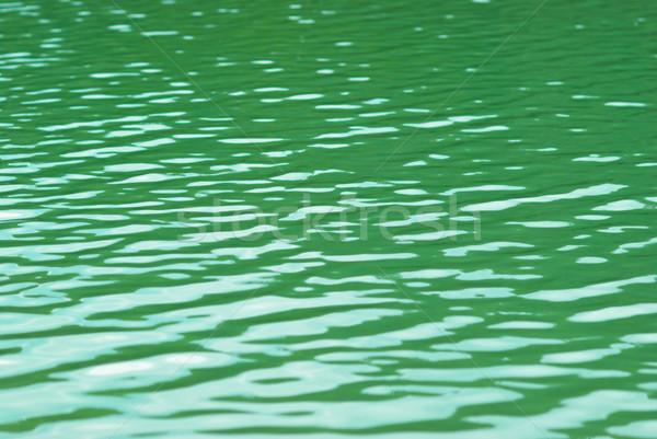 Wasseroberfläche Textur Sonne abstrakten Natur Hintergrund Stock foto © vapi