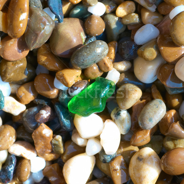 Farbenreich Kieselsteine Textur Steine Natur Garten Stock foto © vapi