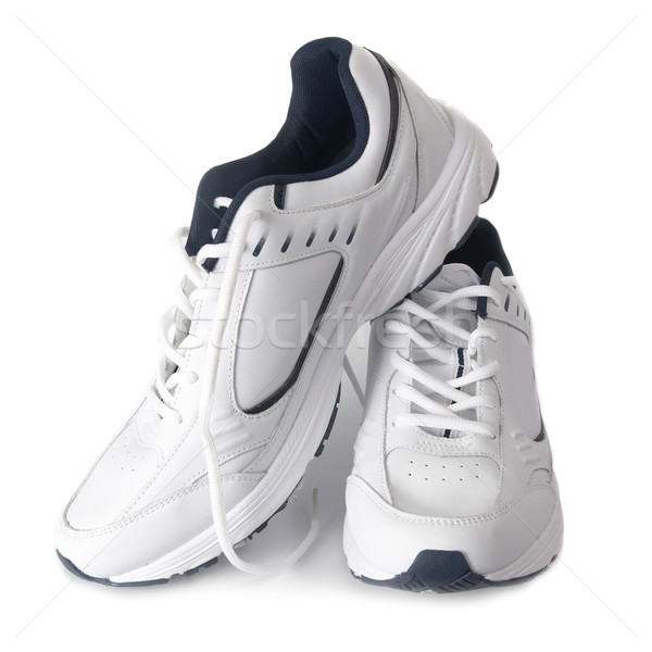 Par entrenadores blanco aislado moda fondo Foto stock © vapi