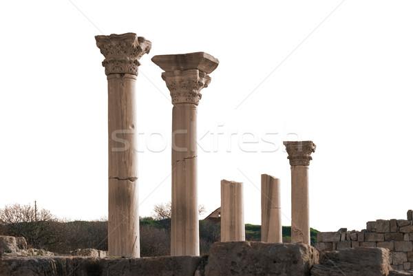 Ancient castle with columns Stock photo © vapi