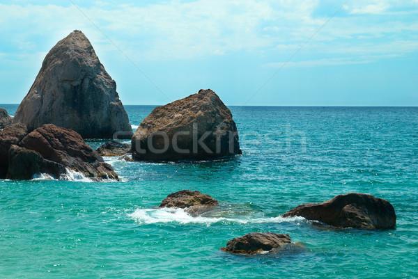 Beautiful sea landscape Stock photo © vapi