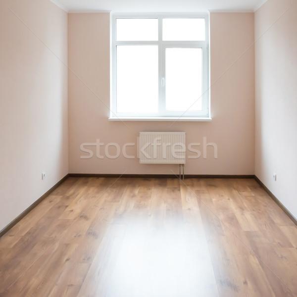 Habitación vacía ventana luz grande blanco Foto stock © vapi