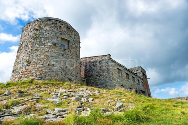 Castle on the top of mountain Stock photo © vapi