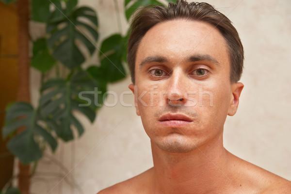 Portrait of caucasian man Stock photo © vapi