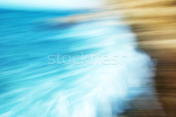 Abstract blured motion- big waves Stock photo © vapi