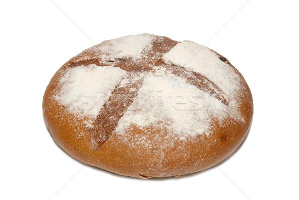 Brown bread isolated on white. Stock photo © vapi