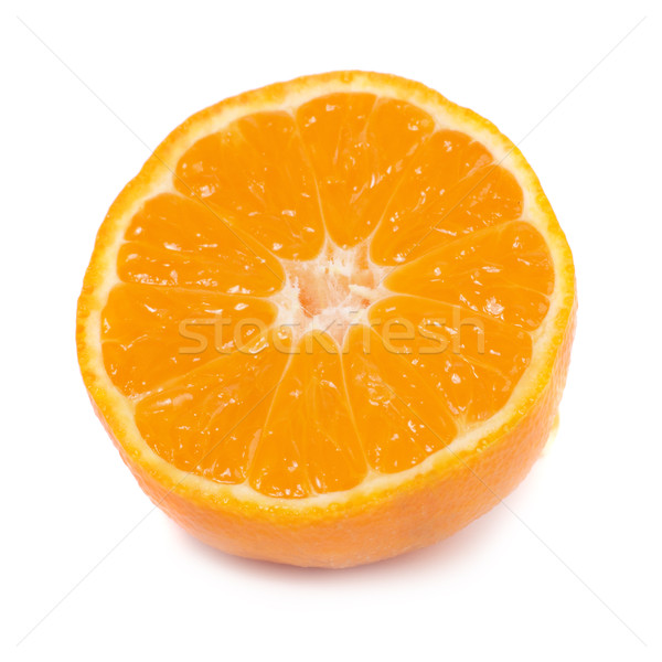 Orange mandarin isolé blanche alimentaire Photo stock © vapi