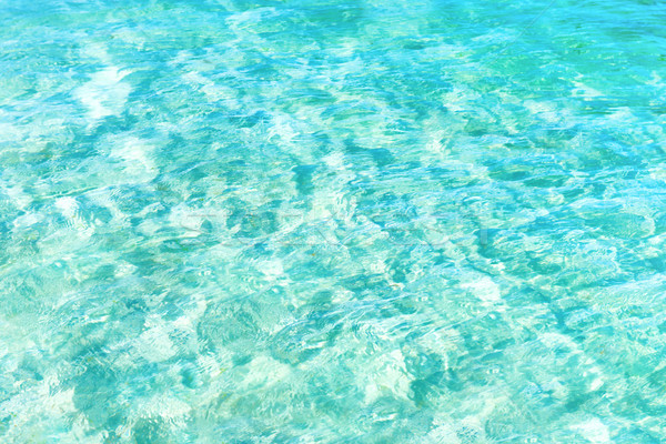 Mavi su doku dalgalar can soyut Stok fotoğraf © vapi