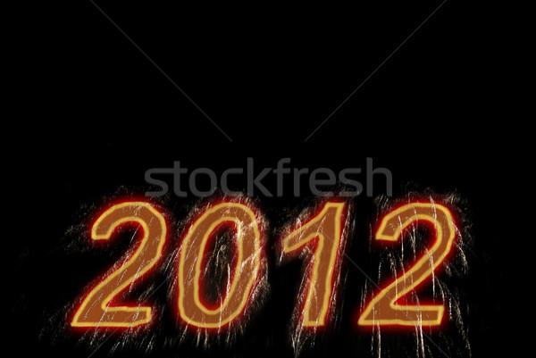 Happy new 2012 year. Stock photo © vapi