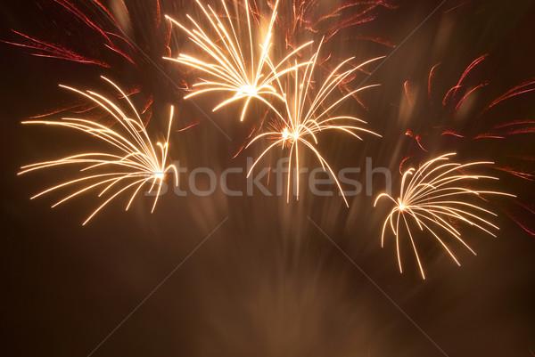 Beautiful fireworks Stock photo © vapi