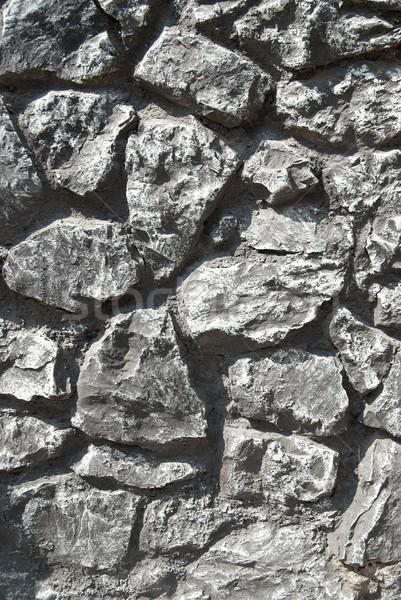 Cinza grunge pedras lata abstrato natureza Foto stock © vapi