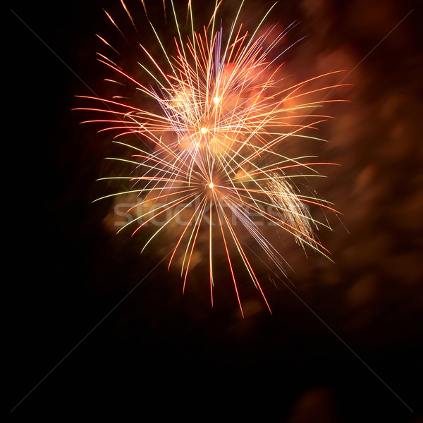 Fireworks, salute. Stock photo © vapi
