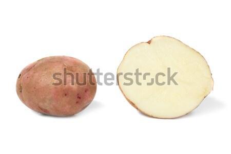Potato and potato's half  Stock photo © vapi