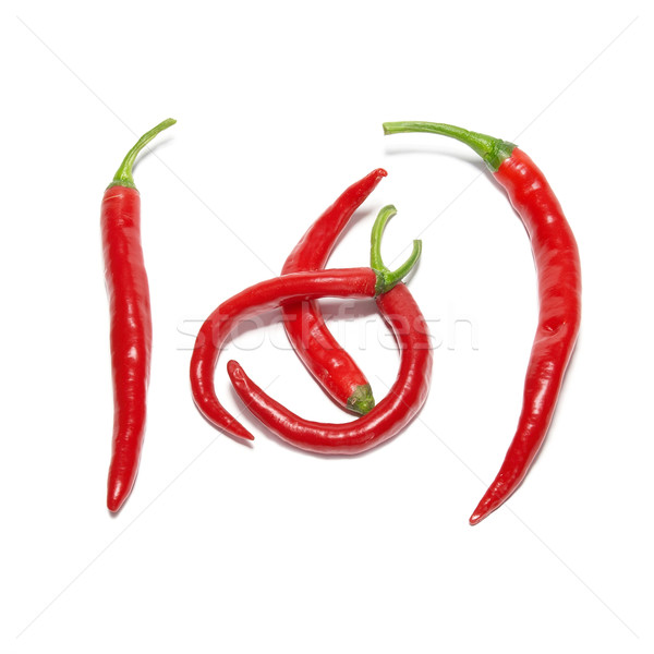 Red hot chili peppers Stock photo © vapi
