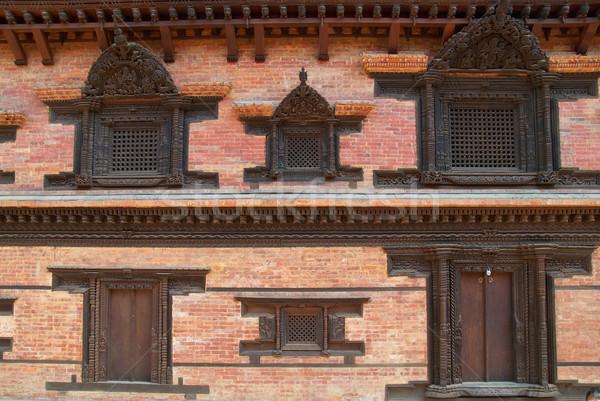 Old wooden doors Stock photo © vapi