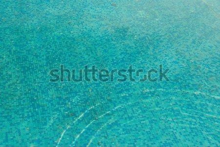Blau sonnig Wasseroberfläche Strand Textur Sonne Stock foto © vapi