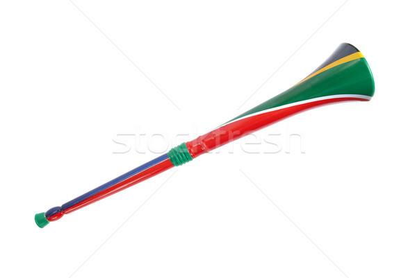 Afrique du sud isolé blanche football football balle Photo stock © vapi