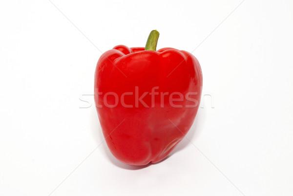 Piros piros paprika izolált fehér citromsárga bors Stock fotó © vapi