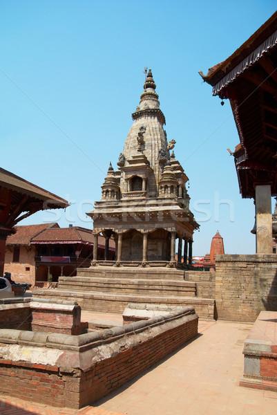 Tempio città vecchio casa costruzione strada Foto d'archivio © vapi
