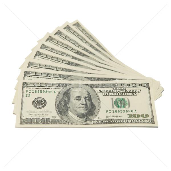 Stack of american dollars Stock photo © vapi