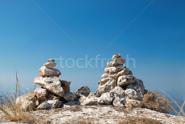 Two stone towers Stock photo © vapi