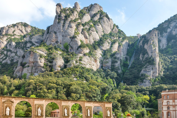 Stock photo: Montserrat Monastery in Barcelona, Spain