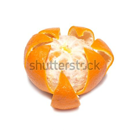 Skinned orange mandarin Stock photo © vapi
