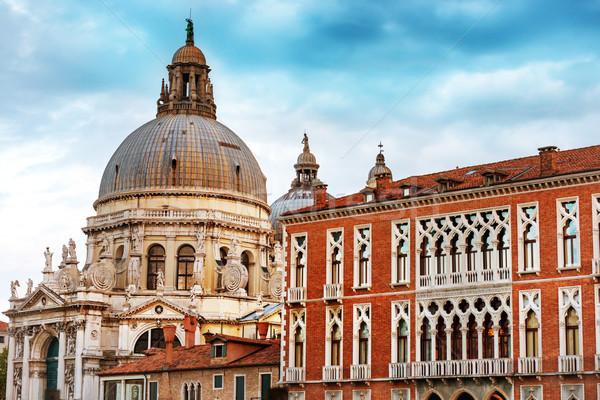 базилика Венеция канал Италия Сток-фото © vapi